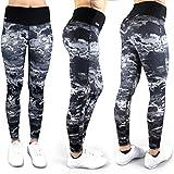 Formbelt® Laufhose Damen mit Tasche lang - leggins stretch-hose Lauf-tights für Smartphone Iphone...