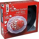 Kreativ-Set Kreative Kuchen mit Herz: Buch mit Rezepten und Herzbackform mit Herzdesign (Buch plus...