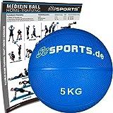 ScSPORTS Medizinball inkl. professionelles Workout, Gewichtsball in 1 kg, 2 kg, 3 kg, 4 kg, 5 kg, 6...