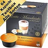 Testbox - 64 Dolce Gusto kompatible Kapseln - Alle Sorten (4er-Pack mit Kaffeekapseln und...