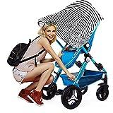Stilltuch Stillschal für diskretes Stillen Ihres Babys unterwegs Baby Autositz Cover, Ideales...
