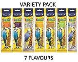 Vitakraft – Kräcker in 7Geschmacksrichtungen, Doppelpack: 2 x 7x 65g (insgesamt 14...