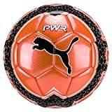 PUMA Evopower Vigor Graphic 4 Fußball, Fiery Coral-Puma White, Mini