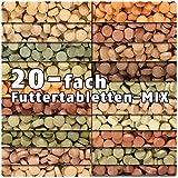 AQUALITY PREMIUM Futtertabletten-MIX '20 Sorten' 500 ml (Eine täglich ausgewogene Mischung von 20...