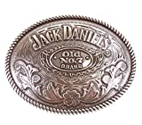 Gürtelschnalle Jack Daniel's Old No. 7 Brand oval - Gürtelschnalle Gürtelschließe Western Belt...