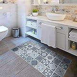 Wasserdichte Non-Slip-Boden-Aufkleber, Umweltschutz Wand Aufkleber, Muster Mosaik-Geeignet Für Das...