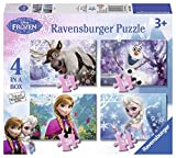 Ravensburger - Disney Die Eiskönigin – Völlig unverfroren 4 in 1 Puzzle-Set (Sortimentsartikel)...
