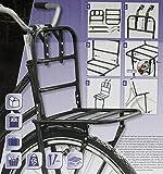Vorne Fahrradgepäckträger Fahrrad Gepäckträger - für Hollandrad in Schwarz