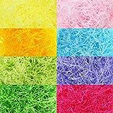 320 g 11,3 oz Mehrfarbiger Osterkorb Shred Papier Raffia Seidenpapier Grass Stuffers Zerkleinertes...