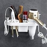 Fönhalter ohne Bohren Badezimmer regal multifunktionale Wandhalterung Haartrockner Rack Für...