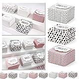 30x Geschenkboxen bunt mit Aufschrift -Sweets- als Gastgeschenk oder Mitbringsel - Kleenes...