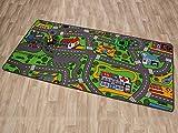 Kindeteppich Spielteppich CITY 0,95 x 2,00
