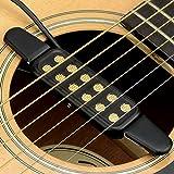 Gitarre Tonabnehmer pickup,12 Löcher Pick up für Akustik Gitarre Westerngitarren Konzertgitarre...