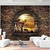 Fototapete Fenster Landschaft Vlies Wand Tapete Wohnzimmer Schlafzimmer Büro Flur Dekoration...
