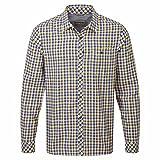 Craghoppers Herren Outdoor Reise Claude Langarm Hemd, Dusk Blue Check, M, CMS513   11H60