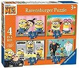 Ravensburger Puzzle 'Ich - Einfach unverbesserlich 3', 4Puzzle in einer Schachtel (12, 16, 20 und...