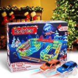 Magic Twister Glow Tracks Race Tracks mit 2 LED Autos Toys für Kinder ab 3 4 5 6 7 Jahre Auto...