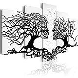 murando - Bilder Bäume Liebe 200x100 cm Vlies Leinwandbild 5 TLG Kunstdruck modern Wandbilder XXL...