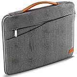 deleyCON Notebook-Tasche für Macbook Laptop bis 15,6' (39,62cm) Schutztasche aus robustem Nylon 2...