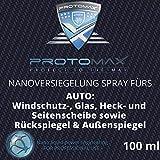 PROTOMAX Nanoversiegelung-Spray fürs Auto: Windschutzscheibe, Glasscheibe, Heckscheibe,...