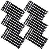 Zacro 30 PCS 300x20mm wiedervervendbare Klettkabelbinder mit Klett Kabelklett Seilklett Veranstalter...