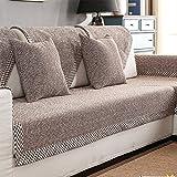 HM&DX Baumwolle Knitted Sofa abdeckung Sofa Überwurf Multi-size Anti-rutsch Schmutzresistent...
