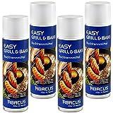 EASY GRILL & BAKE 4x 500 ml (7334) --- Backtrennmittel Spray Backtrenn-Mittel Antihaft...