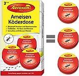 Aeroxon Ameisen-Köder - 3er Pack - bekämpft das ganze Ameisennest
