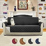Sofa Abdeckung, Umiwe Wasserdicht Gesteppt Sofabezüge mit elastischen Befestigungsgurten, drei...
