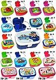 Brotdose / Lunchbox - ' Delfine - Fische ' - mit herausnehmbaren Fach / extra Einsatz - Brotbüchse...