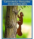 Zierstecker Rostpatina Eichhörnchen,1 Stück