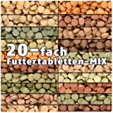 AQUALITY PREMIUM Futter-Tabletten MIX '20 Sorten' 1.000 ml (Eine täglich ausgewogene Mischung von...