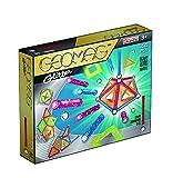 Geomag 532 - Glitter Panels, 44-teilig