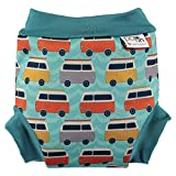 Close Pop-in 50120677 Schwimmwindel, X-Large, Campervan blau