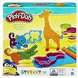 Hasbro Play-Doh B1168EU4 - Safari Knetwelt, Knete
