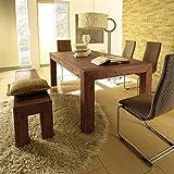 Esstisch Wohnzimmertisch Tisch Massivholz 240-300x100cm Auszug Hamburg Massivholztisch