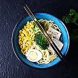 Japanische kreative Keramik Schüssel Retro Nudeln Obstsalat Ramen Suppe Große Schüssel