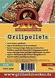 Grillschmecker Grillpellets Apfel 100% Apfelholz