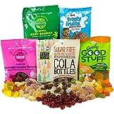 Vegane Süßigkeiten-Paket mit 5 Tüten mit gelatinefreien Süßigkeiten