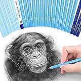 24Skizze Bleistifte–Professionelle Kunst Skizzieren Bleistifte Set Fine Point führen...