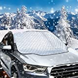 Scheibenabdeckung, Migimi Auto windschutzscheibe abdeckung Anti-Frost Auto Abdeckungen Autoabdeckung...