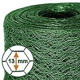 Mammut® Drahtzaun / Sechskant-Geflecht | Maschenweite 13 mm | Gartenzaun | Länge und Höhe...