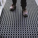 Ergonomic Technology Ringgummimatte - robuste Gummimatte mit Waben für außen und innen - 5...