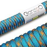 Paracord 550 Seil, 31 Meter, für Armband, Knüpfen von Hundeleine oder Hunde-Halsband zum selber...