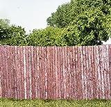 Sichtschutzmatte aus Rinde in zwei Größen (1x3 m)