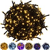 VOLTRONIC® 50 100 200 400 600 LED Lichterkette für innen und außen (Bureau Veritas GS geprüft),...