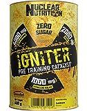 Pre Workout HARDCORE Booster mit Pump und Focus Matrix 400g Bodybuilding Trainingsbooster (Red...