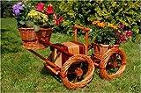 Bagger, Traktor aus Korbgeflecht, 80cm, Rattan, Weidenkörbe, bepflanzen möglich, Pflanzkorb,...