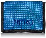 Nitro Wallet, Geldbörse, Geldbeutel, Portemonnaie, Münzbörse, Blur Brilliant Blue, 10 x 14 x 1...
