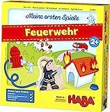 HABA 303807 - Meine ersten Spiele - Feuerwehr   Spannendes Memospiel für 1-4 Spieler ab 2 Jahren  ...